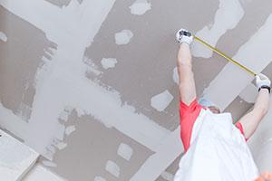 Everett drywall repair example