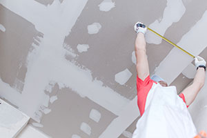 Dorchester drywall repair example