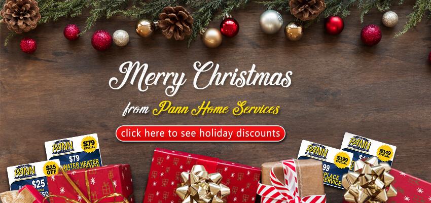 Pann Home Services Christmas Discounts