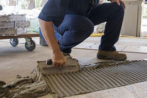 Dorchester tile repair example