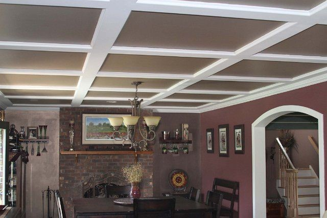 The Stylish Look Of Drop Ceiling Tiles Cambridge Woburn