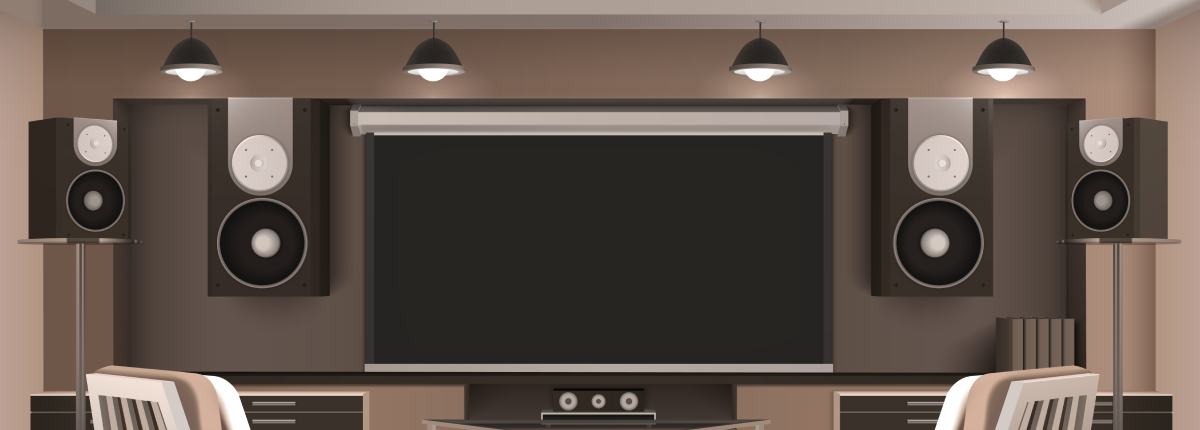 Home Theater lighting options banner